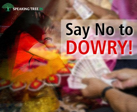 dowry an evil for socitety