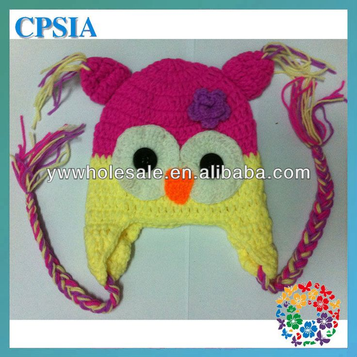 2013 new arrival baby crochet hats baby owls for sale newborn photo props
