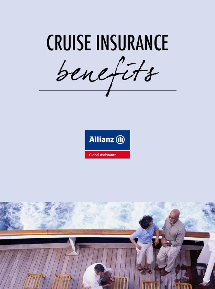 Cruise insurance benefits