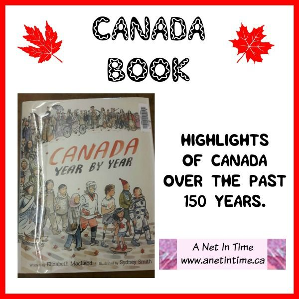 Celebrating 150 years of Canadian history with Canada Year by Year.  http://www.anetintime.ca/2017/09/canada-book-canada-year-by-year.html