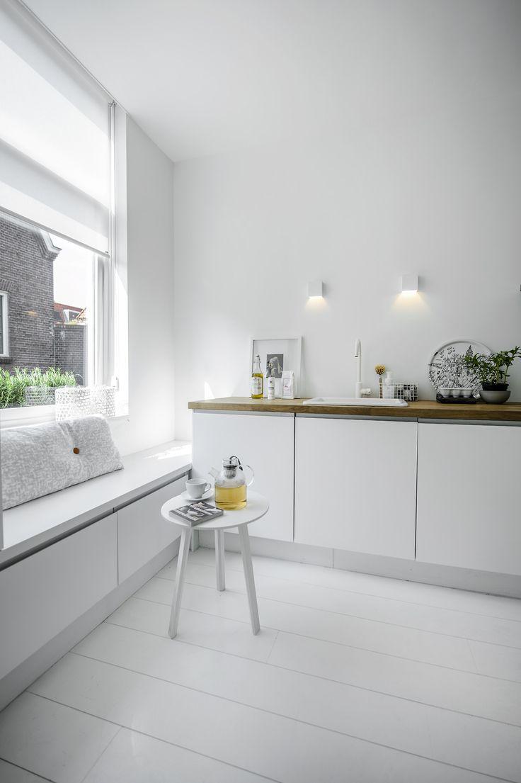 blanco, madera, minimalista, nórdico, dekoloop, cocina