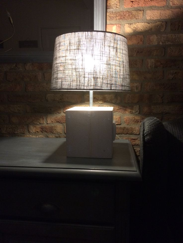 Steigerhouten lamp