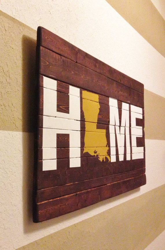 ANY STATE State of Louisiana Home Wooden by HartandHomeDesigns