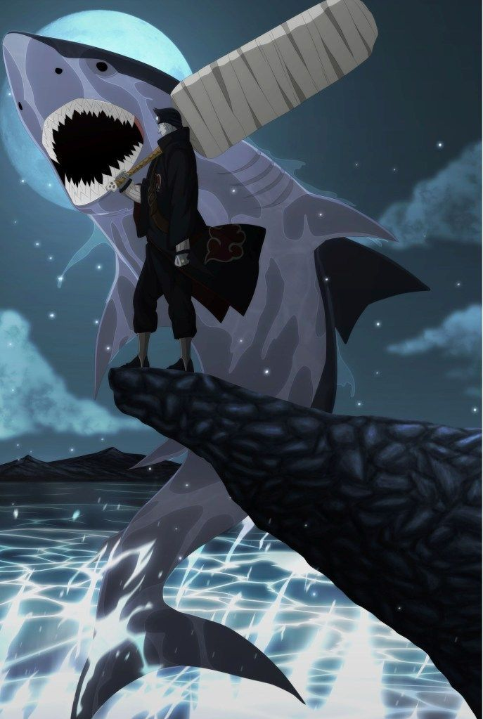 161 best Kisame: Tail-less Tailed Beast images on Pinterest ...