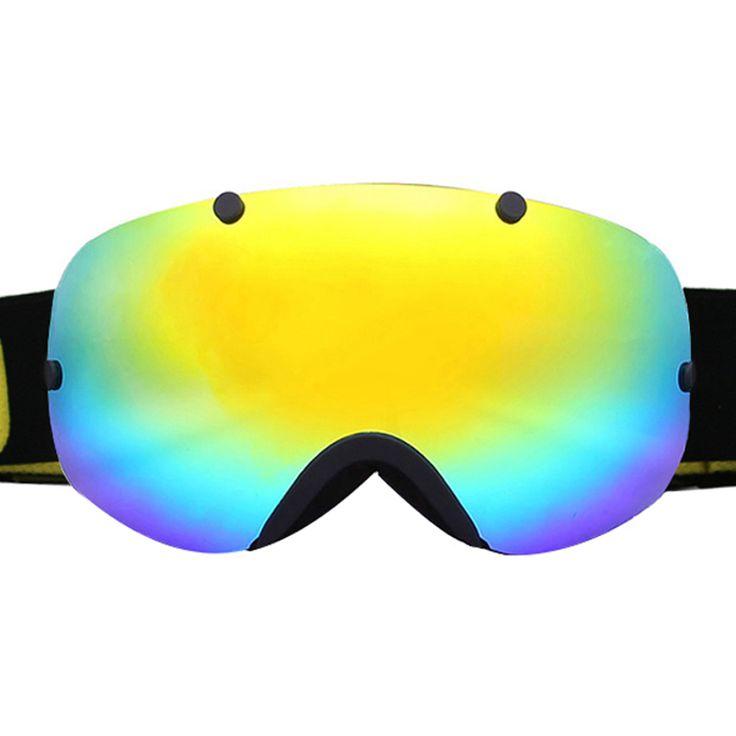 Ski Glasses UV400 Anti-fog Ski Goggles Double Lens Snow Skiing Snowboard Skateboard Goggles Men Women Ski Eyewear