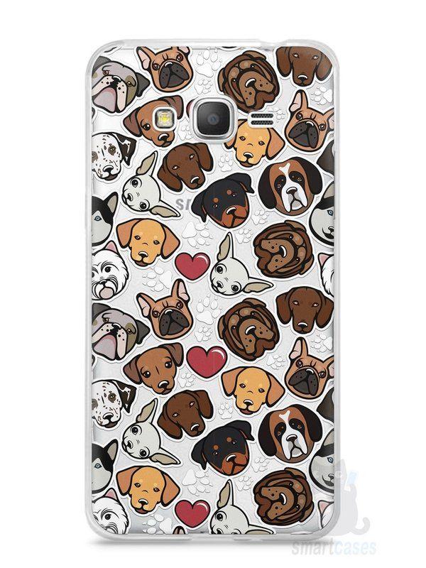 Capa Samsung Gran Prime Cachorros - SmartCases - Acessórios para celulares e tablets :)