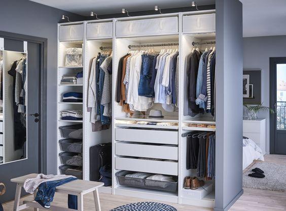 die besten 25 ikea pax kleiderschrank ideen auf pinterest. Black Bedroom Furniture Sets. Home Design Ideas