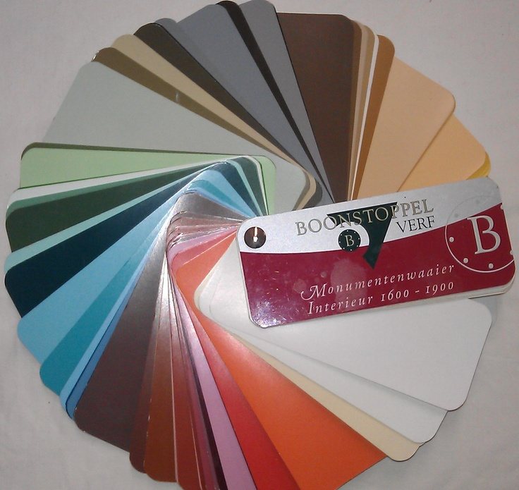 Boonstoppel Historic colour guide