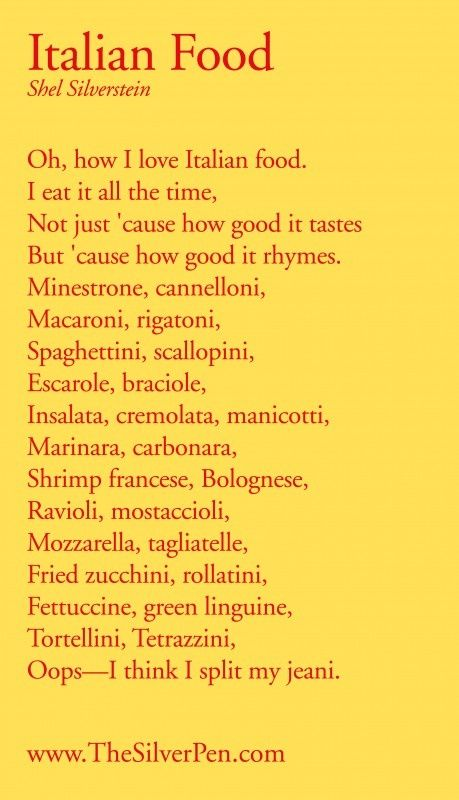 #Italian Food!