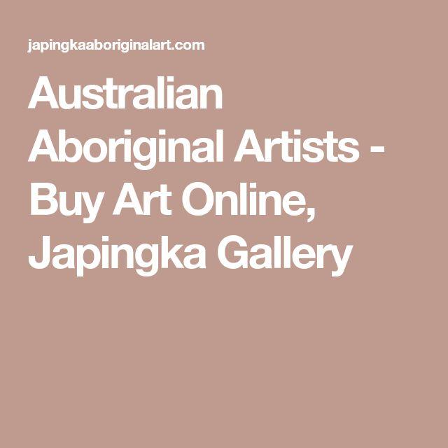 Australian Aboriginal Artists - Buy Art Online, Japingka Gallery