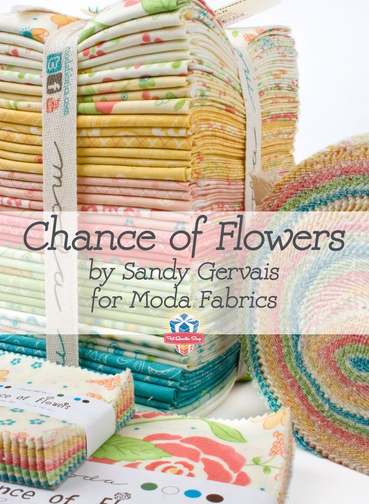 Chance of Flowers by Sandy Gervais for Moda Fabrics
