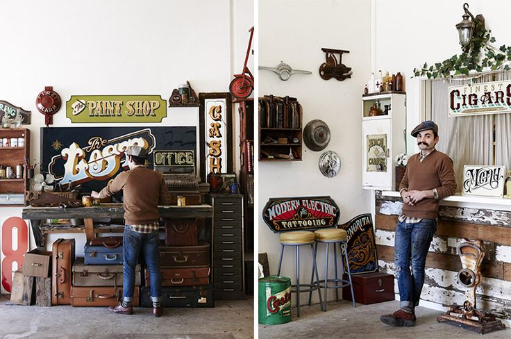 Man Cave Store Melbourne : Best images about type signwriting hand lettering