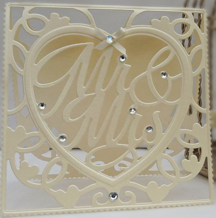 DipsDesigns: Sneak Peek 6 - Tonic Studios Affections Mr & Mrs Card