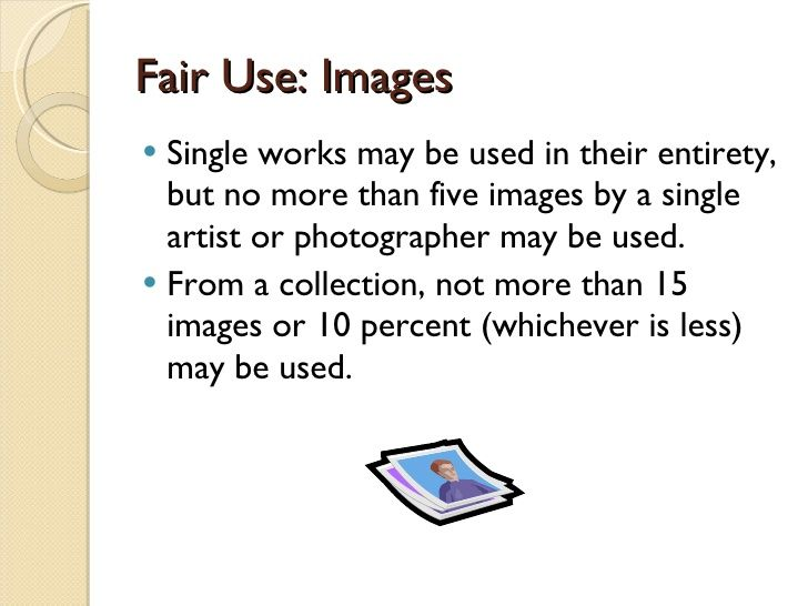 Copyright, Fair Use, And Creative Commons