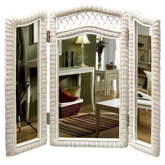 Chasco Designs 4005-W Tri-Fold Mirror                                                                                                                                                                                 More