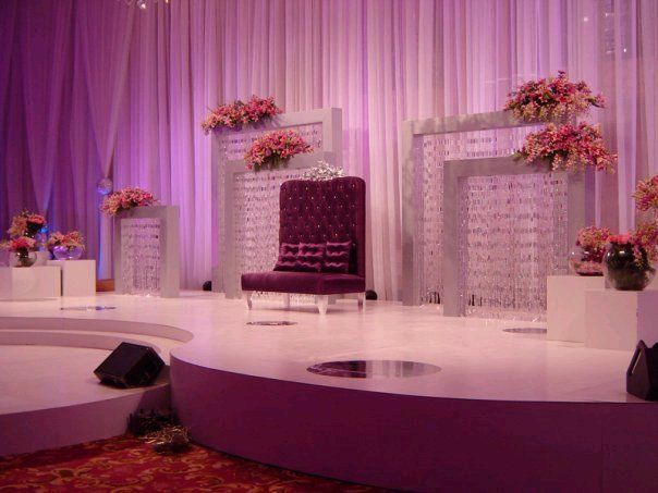 88 best stages images on pinterest indian weddings for Arabic stage decoration