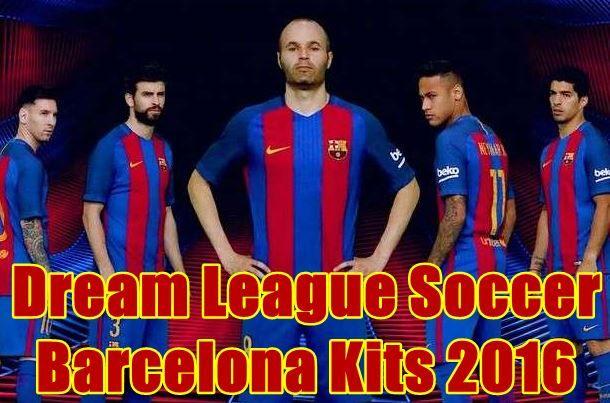 Dream League Soccer Kits Barcelona 2016 2017 With Logo Url