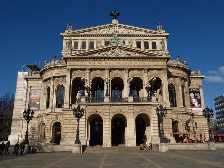 Frankfurt, Germany: Alte Oper
