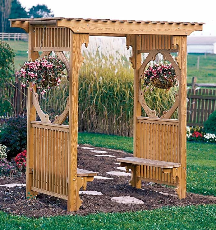 Arbor Designs Ideas garden pergola designrulz 038 Bench Trellis Fence Google Search
