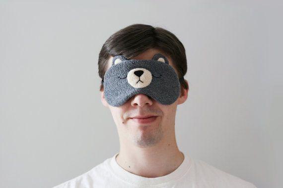 Masque lunettes Woodland voyage masque pour les yeux le dos