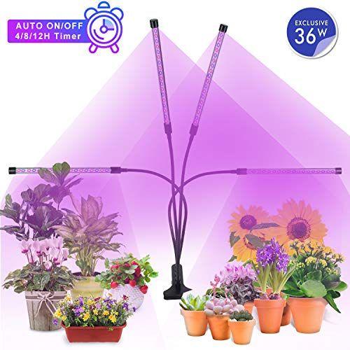 Mimiya Lampe De Croissance Pour Plantes 5 Niveaux A Variation Reglable Led Plante Lampe 36w Lampe P Umhangetasche Grau Mode Rucksack Umweltfreundlich