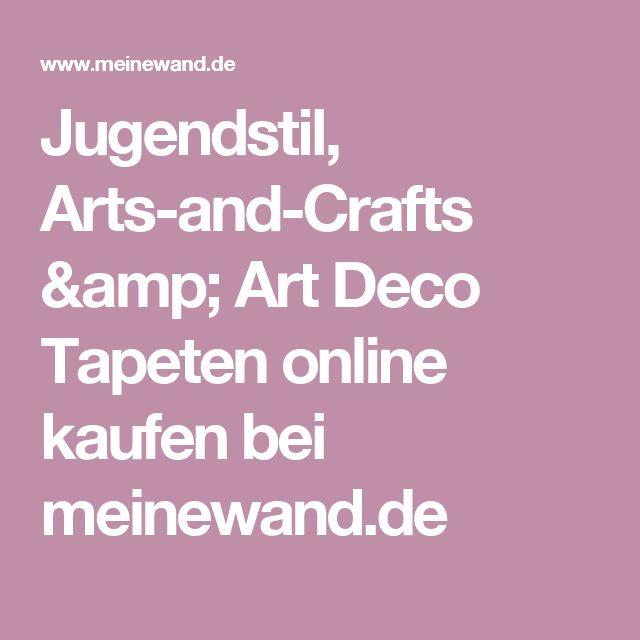 Jugendstil, Arts-and-Crafts & Art Deco Tapeten online kaufen bei meinewand.de