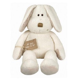 Once Upon A Time Pip Bunny Cuddly characters from the classic Once Upon a Time collection are made from luxurious fabric with different textures and include a special fabric tag with each toy's own unique message embroidered on to it. Making it the perfect super soft for cuddling and playing. $42.95 #easter #gift #bunny