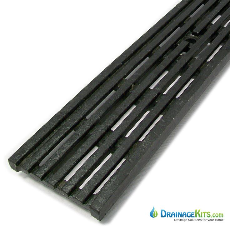 Dg0675hd Ductile Iron Transverse Slotted Grate Ada