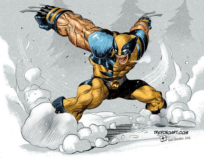 Wolverine: X Men, Xmen, Raultrevino, Geek Art, Raul Trevino, Comic Books, Comic Art, Raul Treviño, Wolverines Fanart