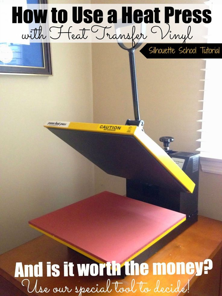 Silhouette School: How to Use a Heat Press with HTV (And Is it Worth the Money?)