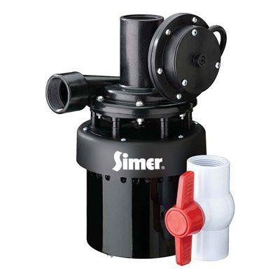 Simer 1/3 HP Automatic Utility Sink Sump Pump