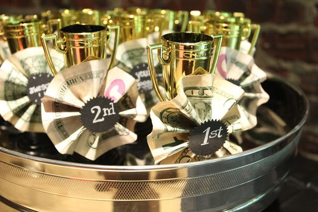 Prizes For A Talent Show Party Mini Trophies From