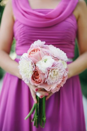 Pink and White Rose Bouquet | photography by http://www.brookeimages.com/