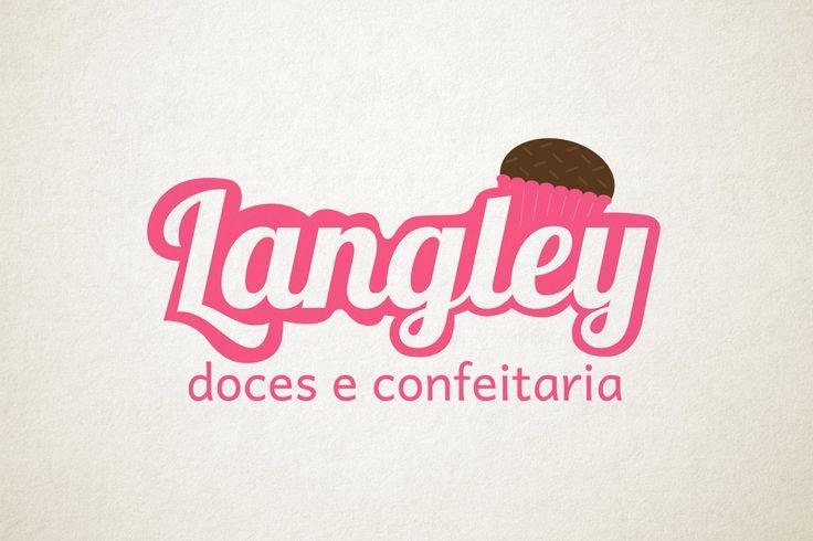 Logo - Langley Doces e Confeitaria