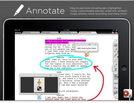 iPad en entreprise: iAnnotate PDF. La meilleure application pour annoter vos fichiers Pdf sur votre tablette.