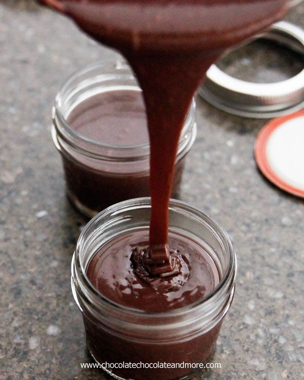 how to make chocolate sauce from nutella