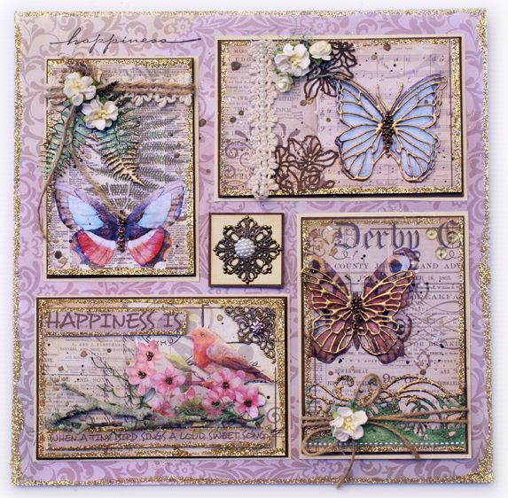 Artdeco Creations Brands: Happiness Sampler by Guest Designer Sue Smyth