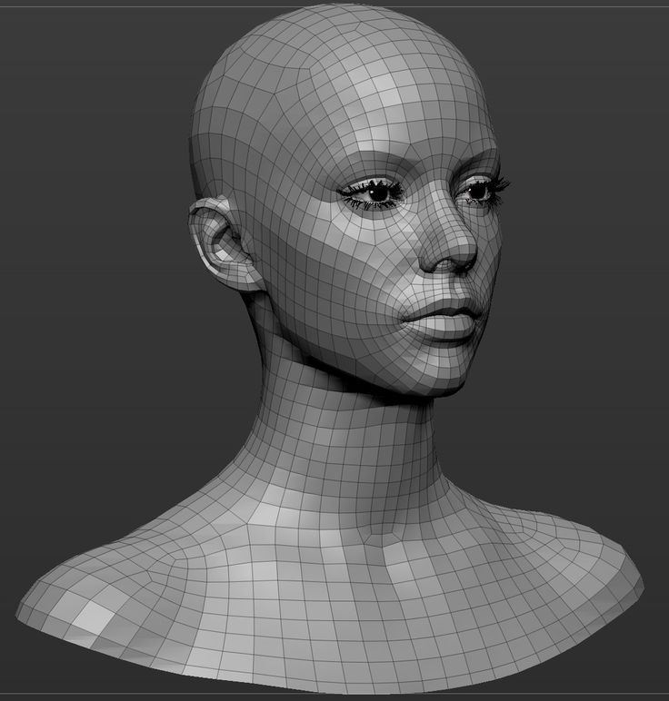 186 best topology images on pinterest 3ds max anatomy for 3ds max face modeling