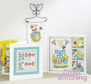 Spring Delights The World of Cross Stitching Issue 201 April 2013 Saved