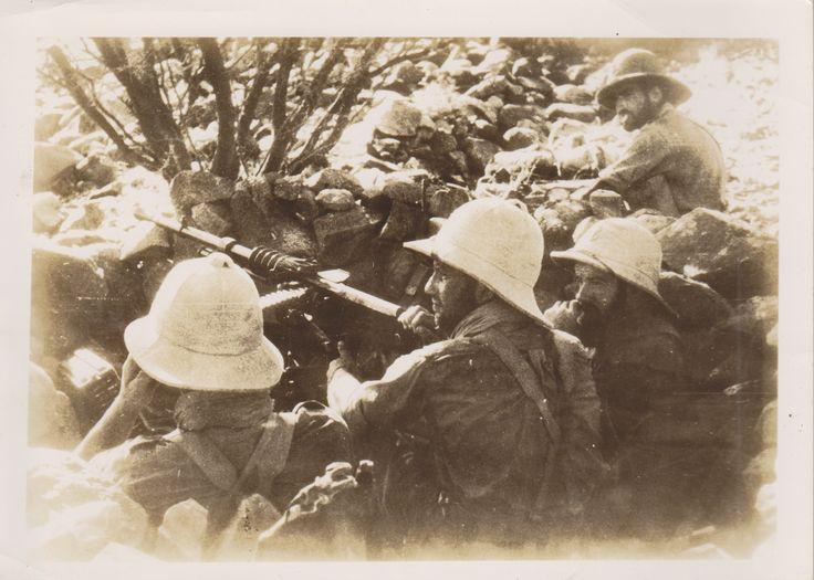 French Colonial troops in Libya- ww2