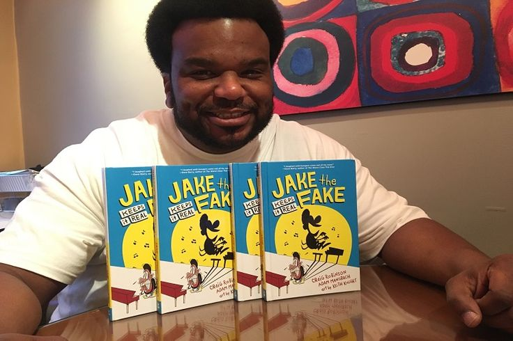 Interview: Actor and Comedian Craig Robinson Writes Kids Book – Jake the Fake Keeps It Real