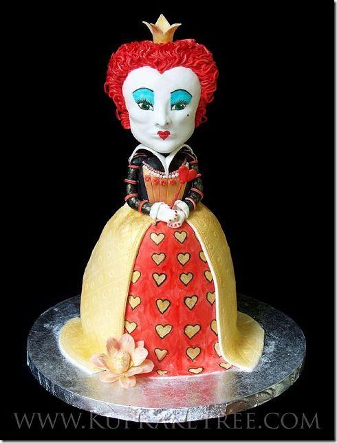 Queen of hearts cake pops