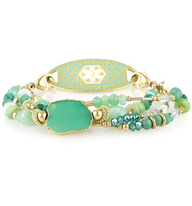 Halle Medical Id Bracelet Items Pinterest Bracelets And