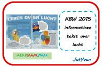©JufYvon: Kinderboekenweek informatieve tekst over lucht