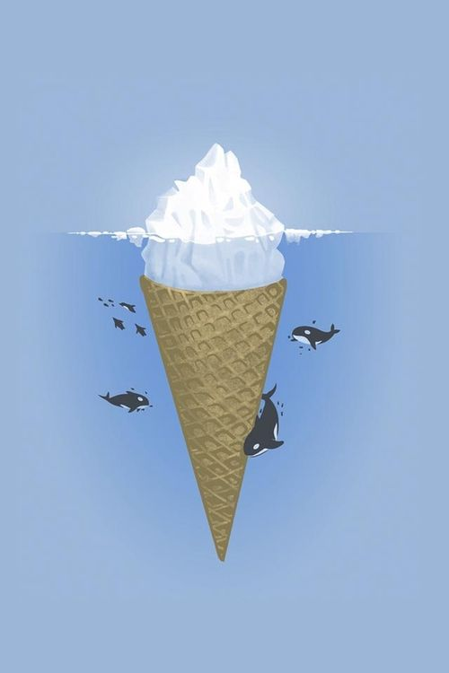The icecream cone model... There so much under the surface which is unseen