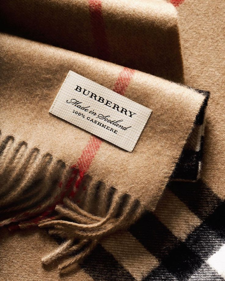 Made in Scotland. Cashmere @Burberry scarves are woven by local craftsmen at our 200 year-old mill in Scotland by burberry