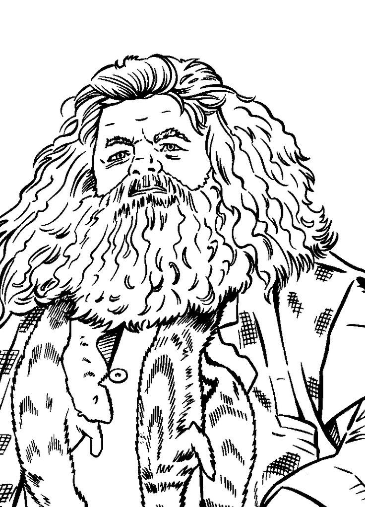 Coloring Page Harry Potter And The Prisoner Of Azkaban