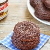 3 INGREDIENT SINGLE SERVING CHEWY NUTELLA COOKIE