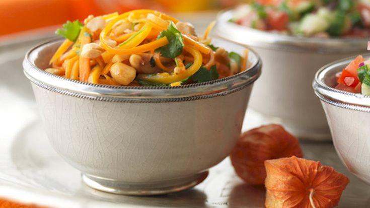 Indisk gulerodssalat, opskrift på nemlig.com