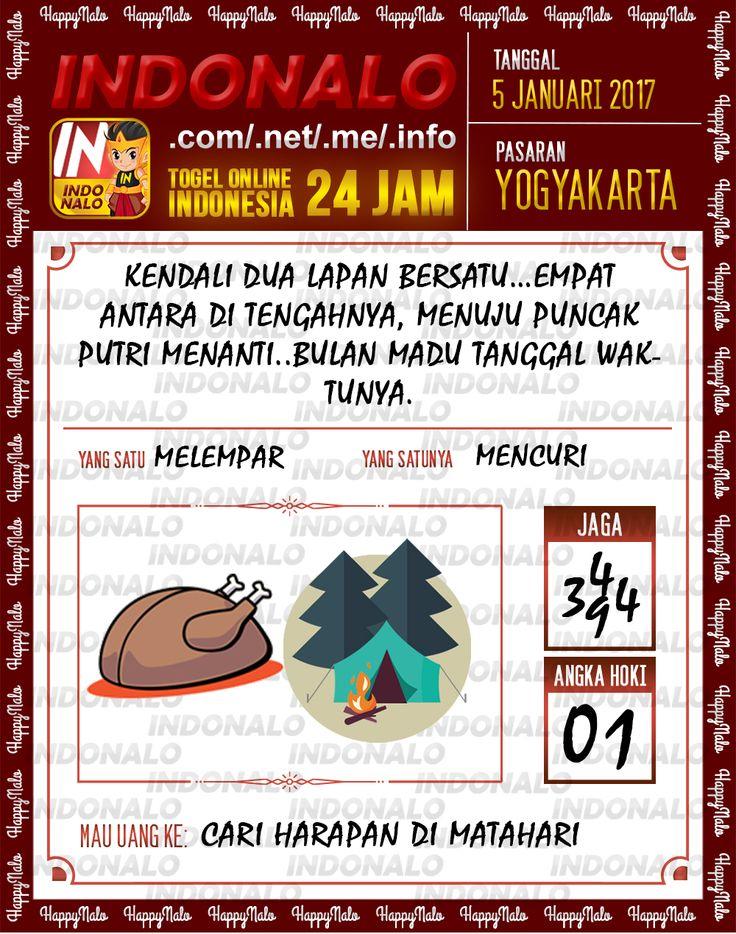 Kode Main 6D Togel Wap Online Live Draw 4D Indonalo Yogyakarta 5 Januari 2017